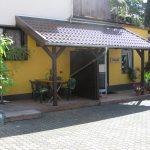 Terrasse - 2-Zimmer-Apartment